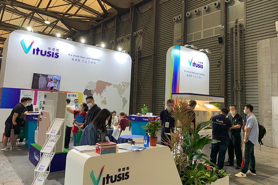 维德斯亮相上海国际绿色建筑展览会
