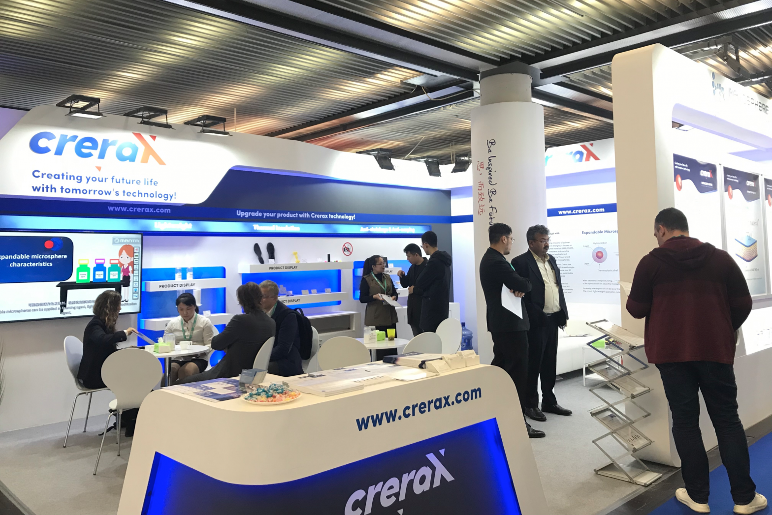 Crerax debuts at K 2019, committing to a circular economy